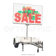 Advertising VMS Trailer Outdoor Traffic Full Color Led Advertising Digital Display Board C size 2560X1600mm VMS-FC-C
