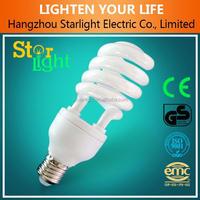 T4 High Quality half spiral energy saving lamp/cfl
