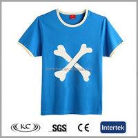 best selling cheap price man blue t shirt world