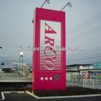 Outdoor Advertising Tri-vision Aluminium Alloy Billboard