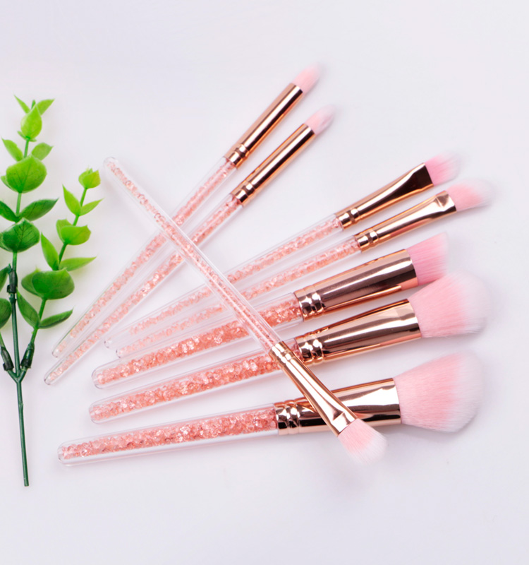 Merrishow 2018 New Free Sample Custom Crystal Makeup Brush