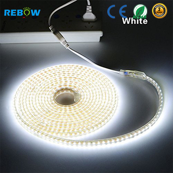 110v 220v 2835 waterproof 50m led strip 2835 high voltage led strip