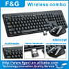 Shenzhen Factory price Wireless Keyboard and Mouse Desktop