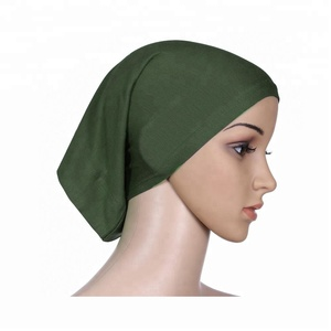 Muslim Headscarf Women Soft Comfortable Inner Hijab Caps Islamic Under Scarf Hats Hot Sell Modesty Style Modal Cap