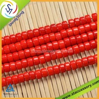 Various Shapes Natural Red Coral Beads Wholesale