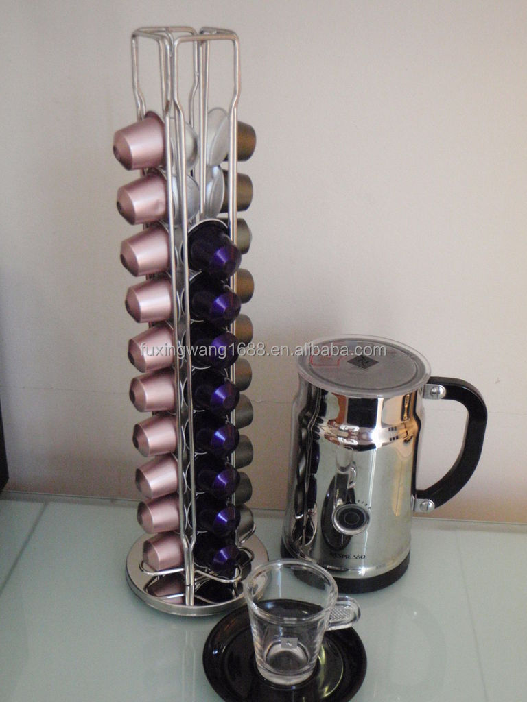 new strong for  pod rotating nespresso capsule holder dispenser  - new strong for  pod rotating nespresso capsule holder dispenser standcoffee