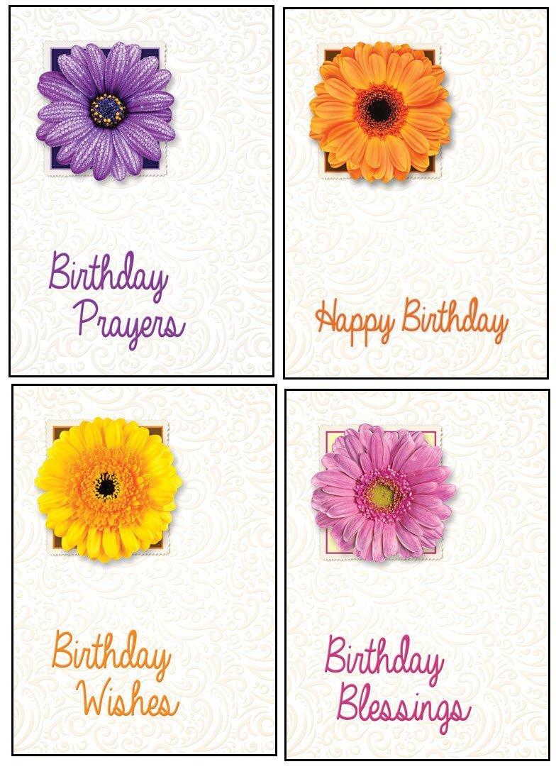 Buy Birthday Cards In Bulk With Niv Scripture Flowers Greeting