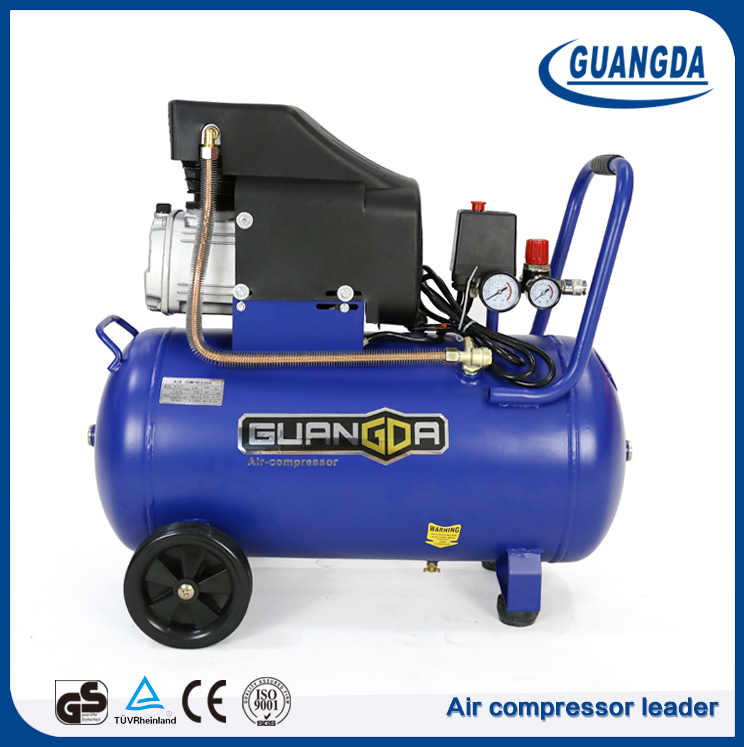 Factory cheap price portable 50L direct driven air compressor