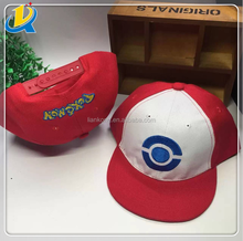 colorful cheap custom snapback caps pokemon hat