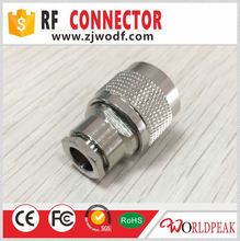 N male plug RF Coax Connector Clamp LMR400 Cable connector RF coaxial Adapter