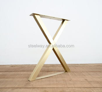 Long Table Brass Table Trestles