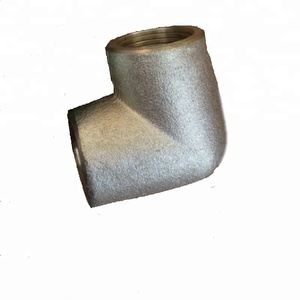 hot dip galvanized BS EN 10241 bsp threaded fittings elbow