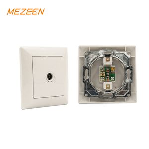 Excellent european wall socket and switch color tv crt socket with skillful manufacture