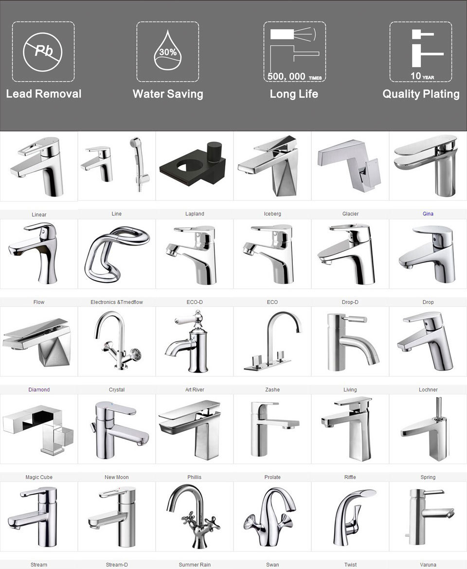 Germany Brand Water Shower Tap Single Handle F748162c-1 - Buy Water ...