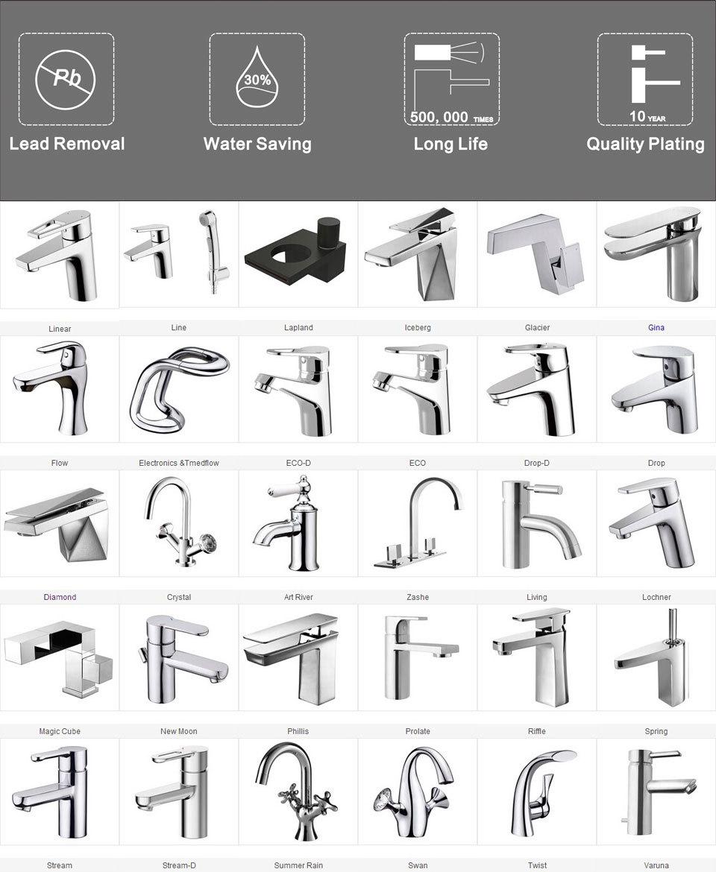2018 Exquisite Wash Basin Tap Models Abrasion Resistance F22969c-3 ...