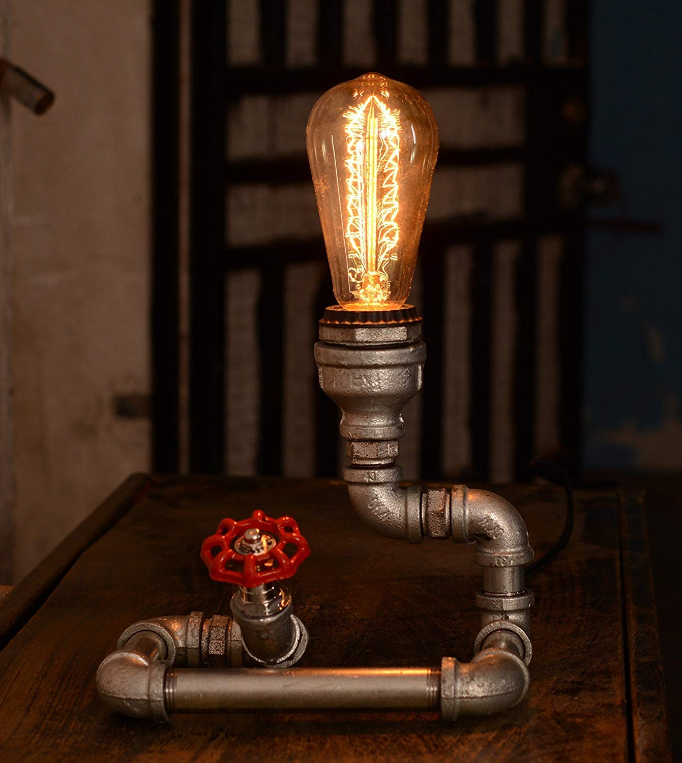 Industrial Lamp, Desk lamp, Antique Table Lamp, Vintage Desk Lamp, Vintage Lighting, Table lamps for Living Room THE BULB IS NOT INCLUDED
