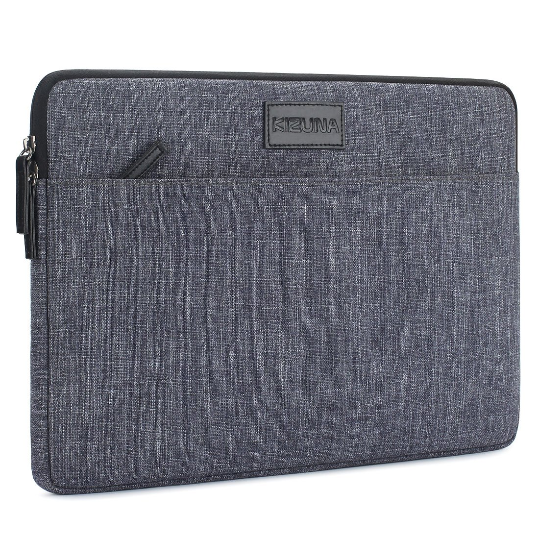 "KIZUNA Laptop Sleeve 15.6 Inch Splash Resistant Shockproof Notebook Case Portable Carrying Bag for 15.6"" Computer/Lenovo/HP/Acer/ASUS/DELL, Grey"