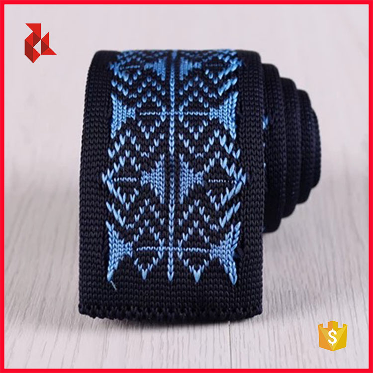 High Quality Mens Skinny Knitted Necktie