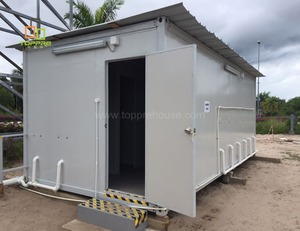 New design outdoor modular prefab knocked down portable container bathroom public toilet in indian