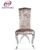 new wedding banquet chair modern stainless steel dining chair