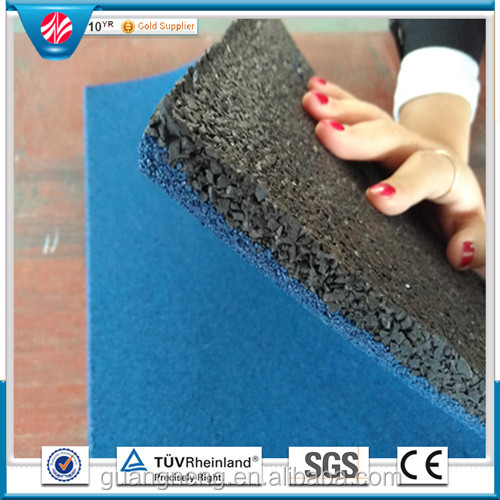Factory Price outdoor Rubber Flooring tile/ Rubber Gym Flooring For Exterior Playground