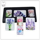 Crystal Glass Refrigerator Magnet for Promotional Gifts