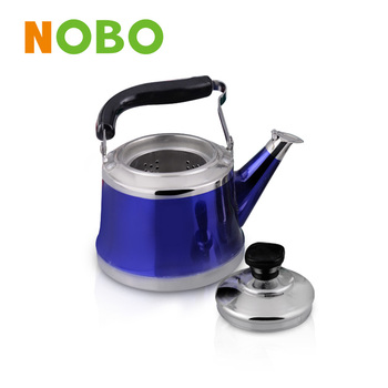 Elegant tea/coffee kettle stainless steel