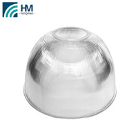 clear plastic lamp shade bell housing reflector 19'' bell housing pc reflector