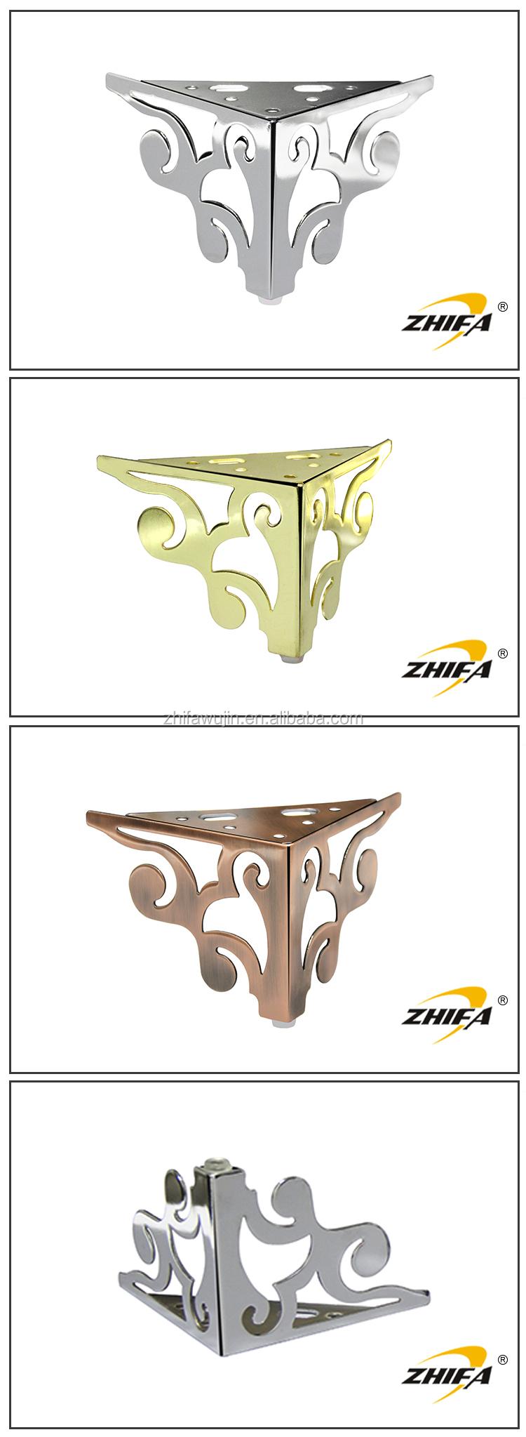 Furniture Legs Short zhifa zf-a109 new design furniture leg extensions,sofa bun feet