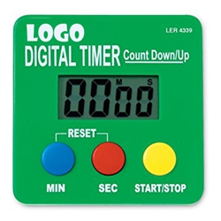 Small lightweight Magnetic Sports Coaching Board Timer