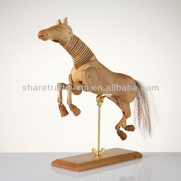 Fashion Handsome Wooden Horse home decoration