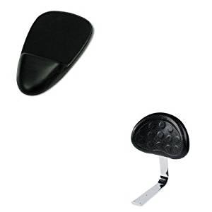 KITSAF6661BLSAF90108 - Value Kit - Safco Backrest for Sit-Star Stool (SAF6661BL) and SoftSpot Mouse Pad w/Wrist Rest (SAF90108)