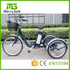 36v 250w e tricycle three wheels electric tricycle for the elderly and disabled
