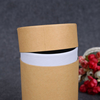 /product-detail/logo-printed-round-kraft-cored-wrapping-paper-tea-packaging-tube-60752570156.html