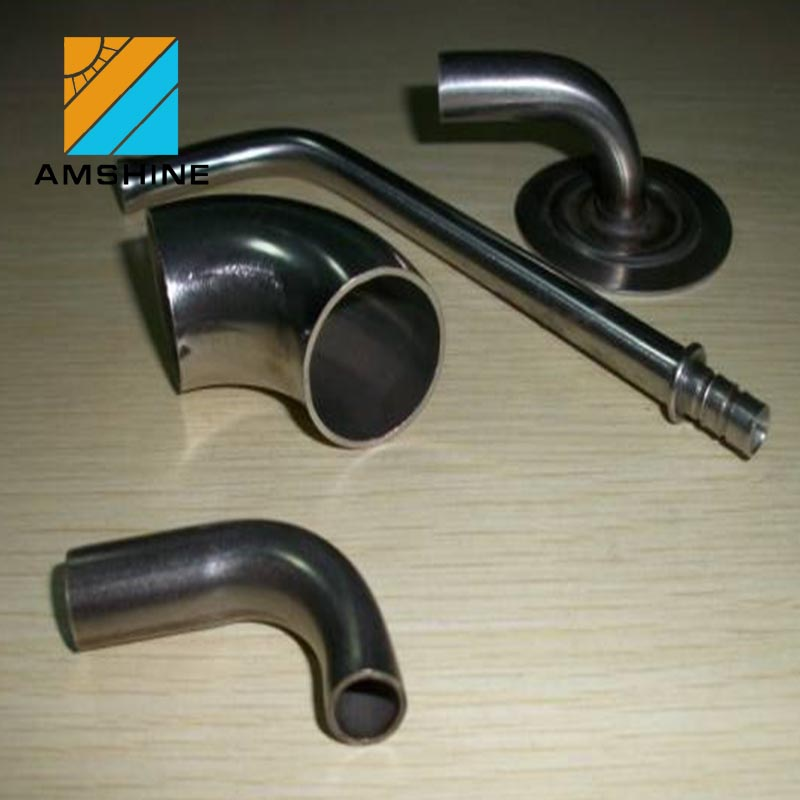 vertical handrail brackets 90 degree stainless steel bend pipe connect