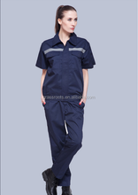 Short-sleeved overalls suit protective clothing factory workshop custom clothing overalls clothing factory