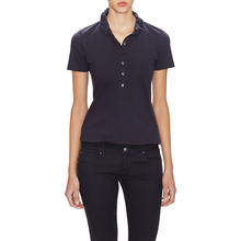 Sexy Sample Super popular Women Plain Polo Shirts