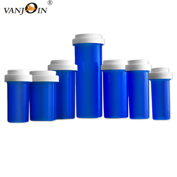 Child Resistant plastic weed container Pop Top vials Medicinal bottle Flower & Edibles Packaging