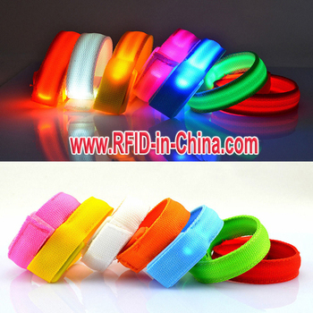 Led Wristband Rfid Admission Bracelets Ticket For Night Clubs