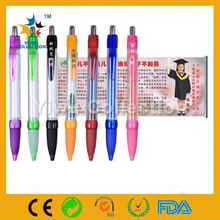 advertising promotional pen,cheap printed logo advertising banner pen,dark glowing flag pen