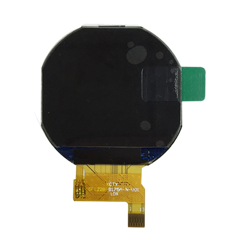 1.22 inch round <strong>lcd</strong> with IPS color screen circular panel for android smart watch
