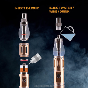 2017 new Glass Globe Meth Vaporizer Vapioneer H3 China Mod Electronic Cigarette Metal E Pipes Vaporizer 18650 Mod from Jomo