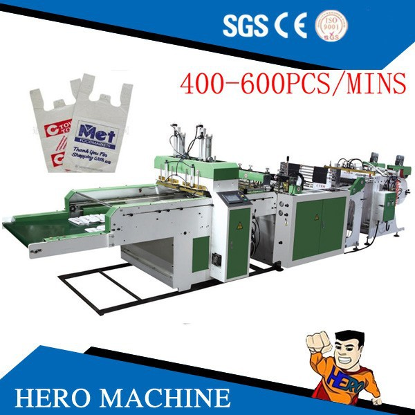 HIGH QUALITY HERO BRAND plastic bag making machine garbage bags