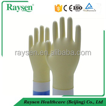 Medical Disposable Latex factory exam gloves in surgical supplies