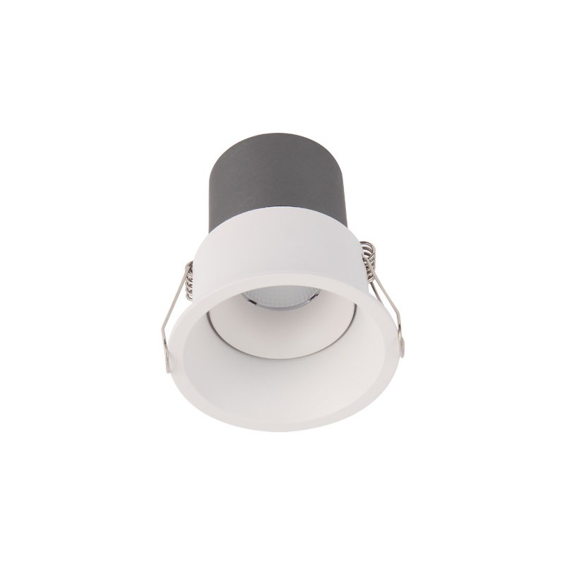 Commercial indoor projector square adjustable dimmable mini recessed cob ceiling led profile <strong>spotlight</strong>