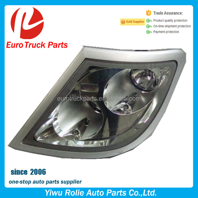OEM RH 1784823 Heavy Duty European Tractor Body Parts Flash Light DAF XF105 Truck Spot Lamp
