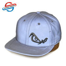 Unipin Factory Wholesale No Moq Diy Style 3D Embroidery Logo Reflective Snapback Hat