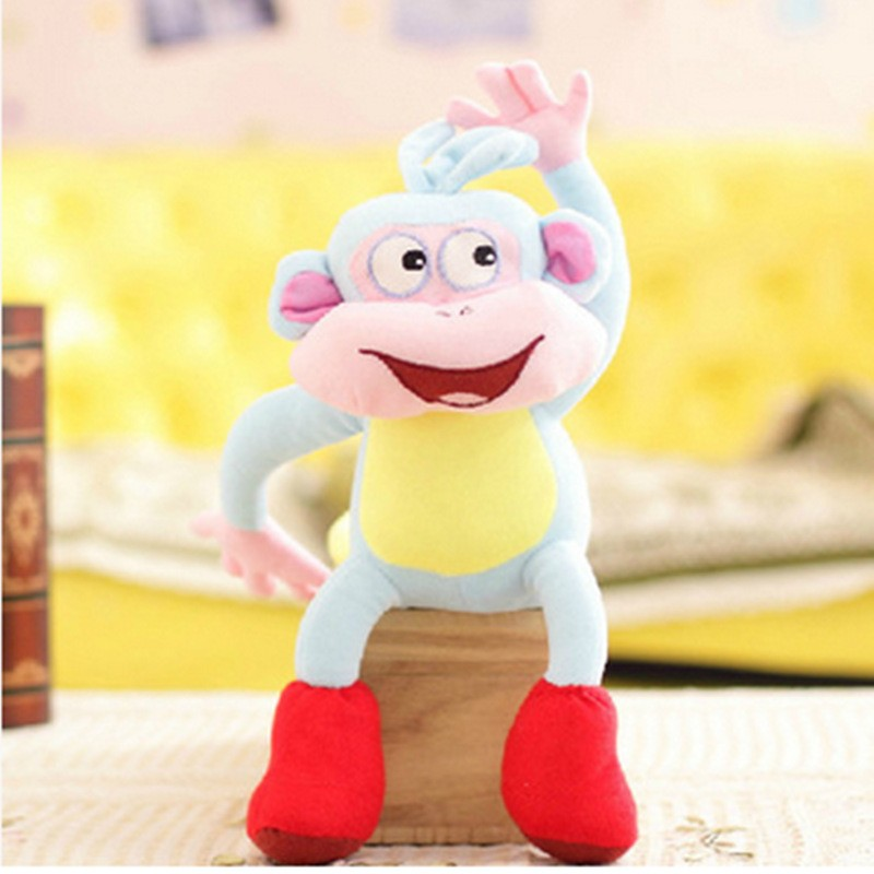 Kids custom finger puppets stuffed animal hand puppets plush toy