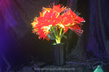 Christmas light up artificial flower potted silk flower with led christmas light up artificial flower potted silk flower with led light mightylinksfo