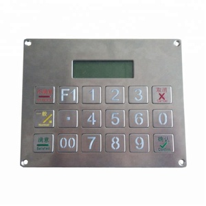 3X6 keys top quality numeric wired keypad for vending machines